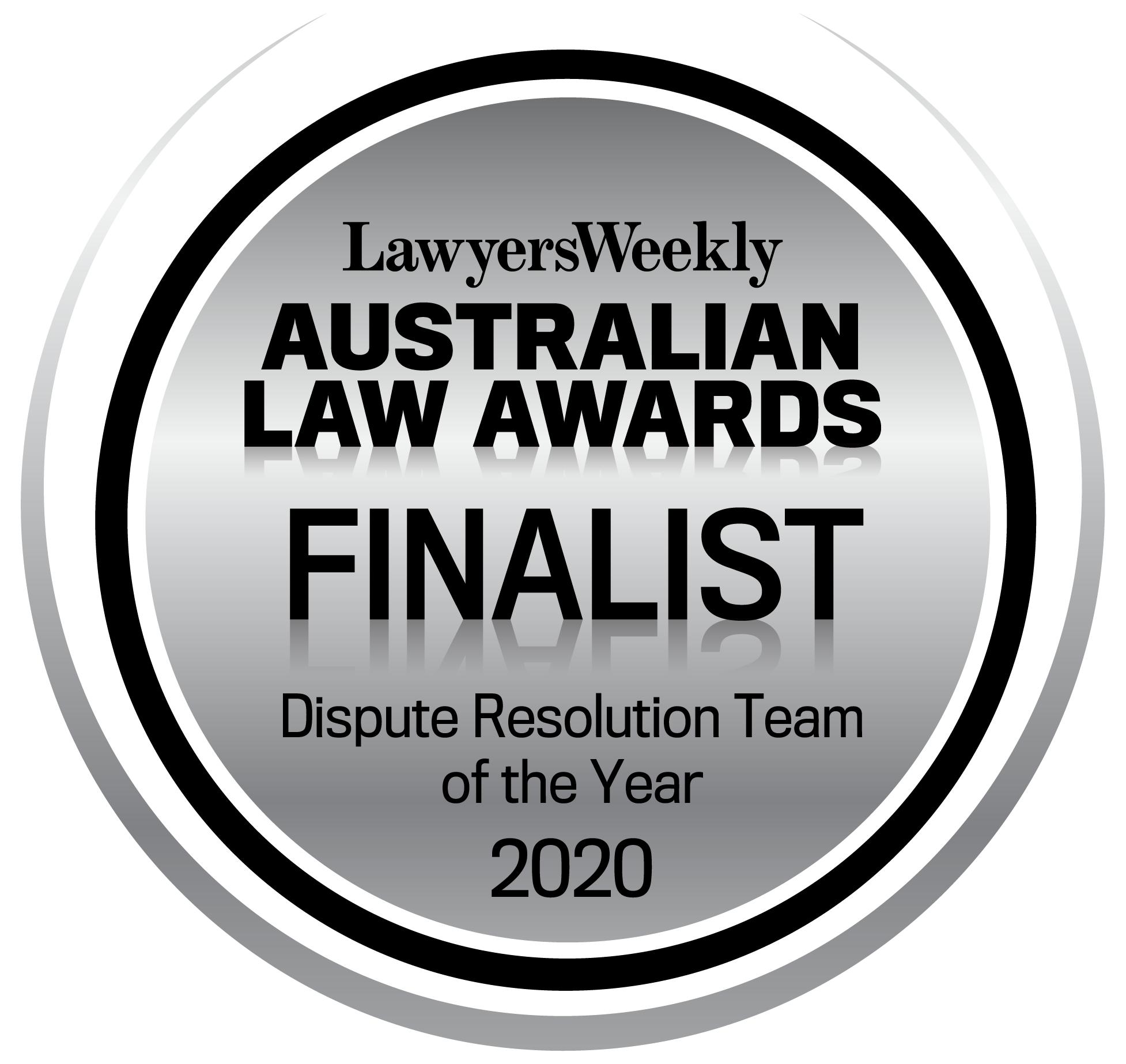 ALA 2020 Finalist Dispute Resolution Team of the Year